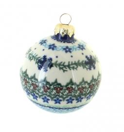 Winter Celebration Large Christmas Ball  sc 1 st  Blue Rose Pottery & Blue Rose Polish Pottery | Christmas Ornaments