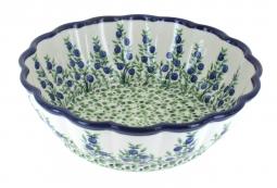 Blue Rose Polish Pottery | Porcelain Vine