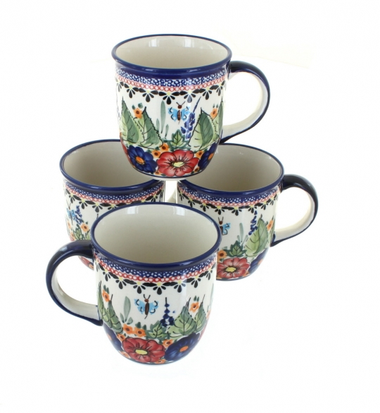 4pc Mug Set