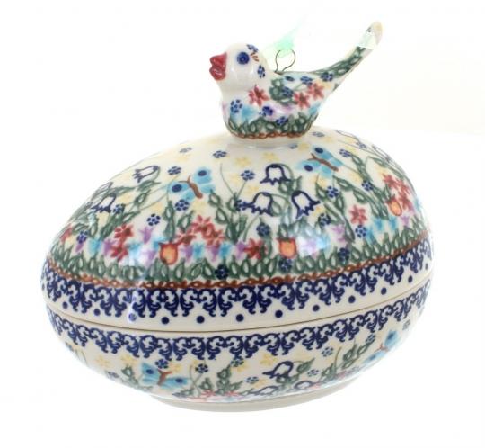 Egg Box with Bird