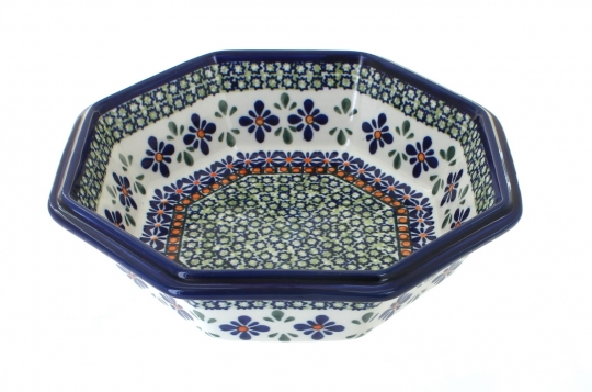 Large Octagonal Bowl