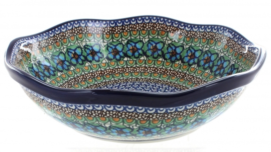 Large Scalloped Bowl