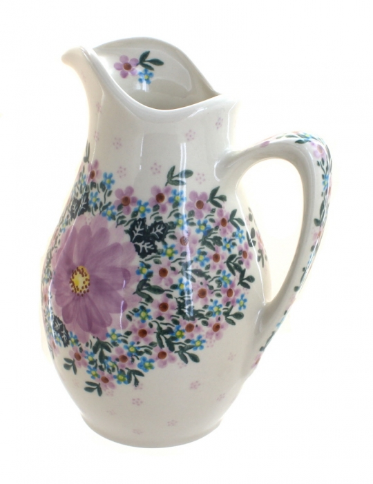 Blue Rose Polish Pottery | Lilac Garden Pitcher Garden Designs Country French Pottery Html on greek revival garden design, french garden furniture, french style gardens, mid-century modern garden design, primitive garden design, english garden design, french garden sheds, french cottage gardens, small cottage garden design, italian garden design, french small garden design, floral garden design, french garden drawing designs, french garden house design, prairie garden design, vintage garden design, tuscan garden design, autumn garden design, victorian garden design, dragonfly garden design,