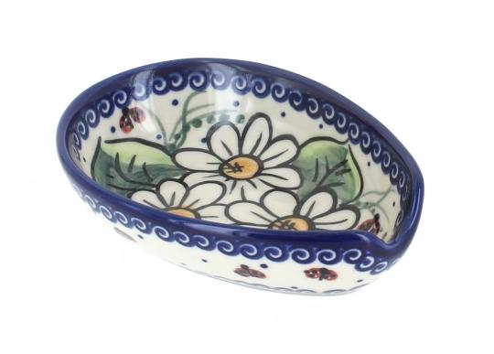 Ladybug Small Spoon Rest  sc 1 st  Blue Rose Pottery & Blue Rose Polish Pottery | Ladybug Small Spoon Rest