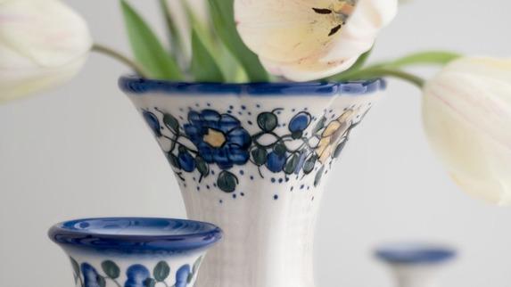 Blue Rose Polish Pottery | Polish Pottery, Stoneware, Ceramics and ...