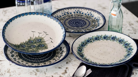 Blue Rose Gift Registries : white pottery dinnerware - Pezcame.Com