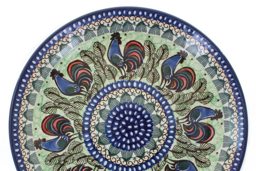 Blue Rose Polish Pottery Signature Series Unikat