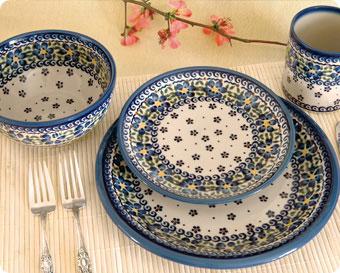Blue Rose Polish Pottery Shop By Style
