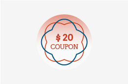 $20 coupon for 4,000 points