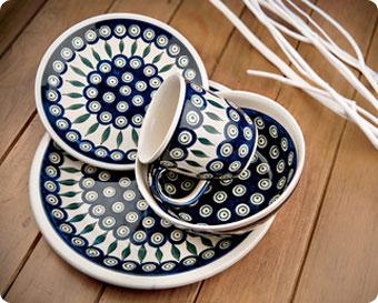 Blue Rose Polish Pottery Shop By Pattern